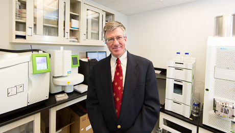 Victor Weedn, a pioneer of forensic DNA testing, is chair of the Department of Forensic Sciences.