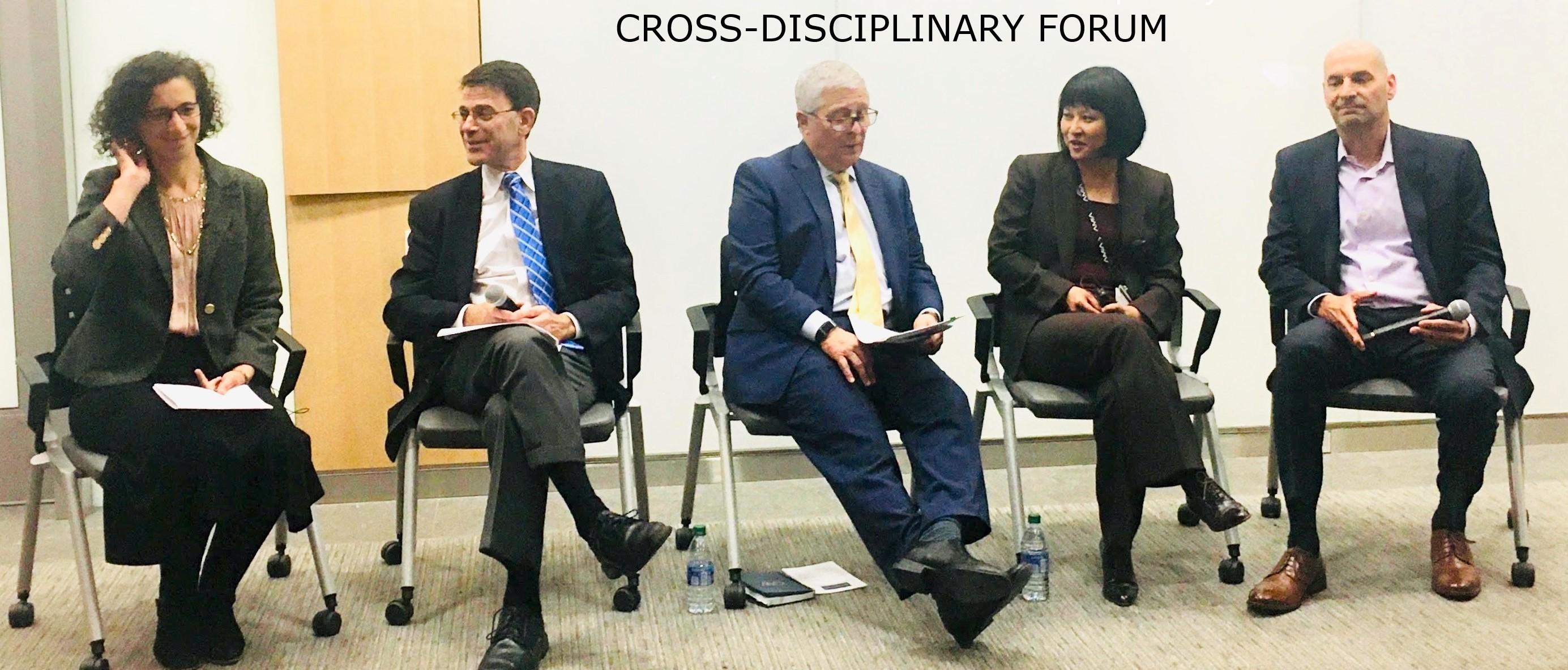 Cross-Disciplinary Forum Panelists