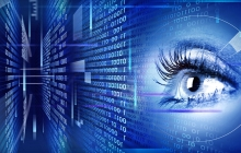 female eye cybersecurity