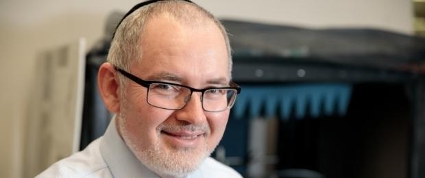 Michael Keidar smiling